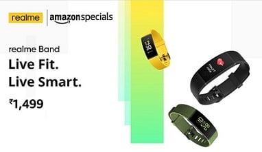 Realme Band for Rs.1499 @ Amazon
