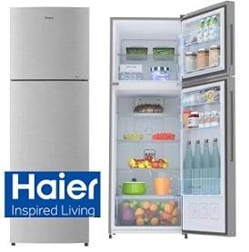 Haier 258 L Frost Free Double Door 3 Star (2020) Convertible Refrigerator for Rs.19440 – Flipkart