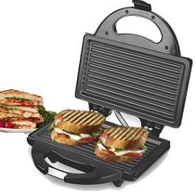 Lifelong LLSM115G 750-Watt 4-Slice Grill Sandwich Maker for Rs.799 – Amazon
