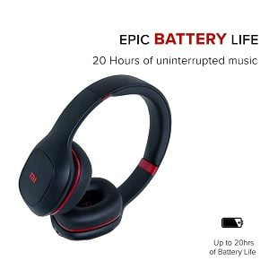 Mi Super Bass Wireless Headphones with Super Powerful Bass, Up to 20 Hours Battery Life, Bluetooth 5.0 for Rs.1599 – Amazon