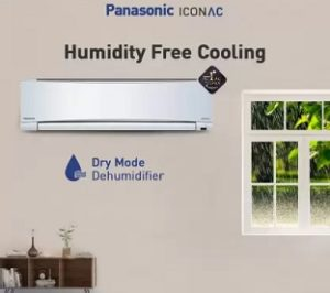 Panasonic 1.5 Ton 3 Star Split AC with PM 2.5 Filter, Alloy Condenser for Rs.25999 @ Flipkart