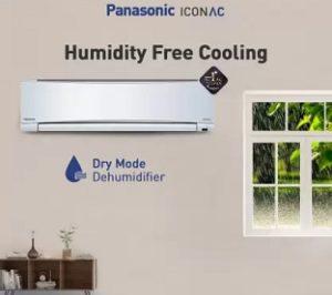 Panasonic 1.5 Ton 3 Star Split AC with PM 2.5 Filter (CS/CU-YN18WKYM, Alloy Condenser)