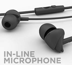 boAt BassHeads 100 in-Ear Wired Earphones with Super Extra Bass, in-line Mic, Hawk Inspired Design for Rs.399 – Amazon