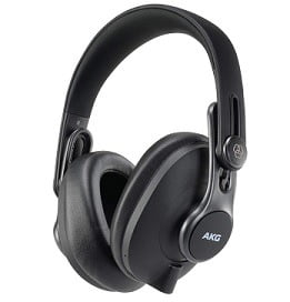 AKG K371BT Over Ear Foldable Studio Headphones With 40 Hour Battery Life, Bluetooth 5.0 and HD Microphones for Calls, Live Streams for Rs.10499 – Amazon