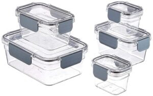 AmazonBasics Tritan 5 Pcs. Food Storage Container (Air Tight and Leak Proof) for Rs.1229 @ Amazon