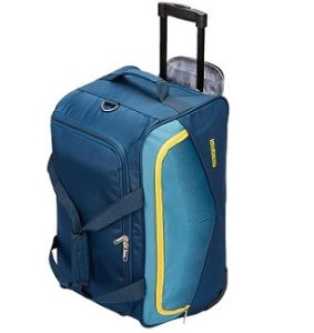 American Tourister Ohio Polyester 55 cms Blue Travel Duffle for Rs.1869 @ Amazon