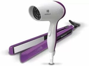 Havells Hair Dryer & Hair Straightener Combo HC4025 for Rs.1253 @ Flipkart