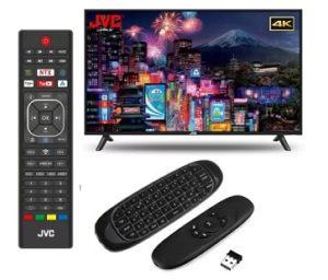 JVC 49 inch Ultra HD (4K) LED Smart TV with Quantum Backlit Technology for Rs.27999 @ Flipkart