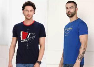 Men's Top Brand Shirts & Tshirts 60% – 80% off @ Flipkart