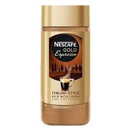 Nescafe Gold Espresso Italian Style Rich with Crema, 100 g for Rs.620 @ Amazon