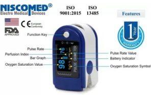 Niscomed CMS-50D Pulse Oximeter for Rs.1999 – Flipkart