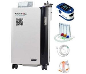 OXY-MED MINI CosmoCare Oxygen Concentrator with Inbuilt Nebulizer, 5 L for Rs.48000 – Amazon