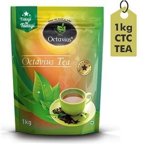 Octavius Premium Assam CTC Granulated Black Tea 1Kg for Rs.285 @ Amazon
