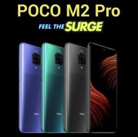POCO M2 Pro series Mobile for Rs.13,999 @ Flipkart