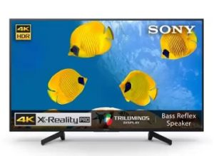Sony Bravia X7002G 108cm (43 inch) Ultra HD (4K) LED Smart TV for Rs.42999 – Fli[pkart (Lowest Price)