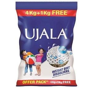 Ujala IDD Detergent Powder – 5 kg for Rs.305 @ Amazon