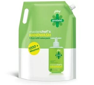 Steal Deal: Godrej Protekt Masterchef's Handwash 1500 ml for Rs.139 @ Amazon