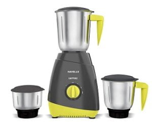Havells Capture 500 Watt Mixer Grinder with 3 Jar (5 Year Motor Warranty)