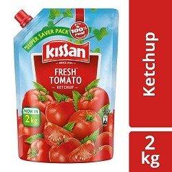 Kissan Fresh Tomato Ketchup, 2 kg for Rs.220 @ Amazon
