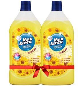 Maxkleen Disinfectant Floor Cleaner (975 ml x 2) for Rs.297 @ Amazon