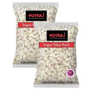 Nutraj Cashew Nuts W450 (400g X 2) for Rs.699 @ Amazon