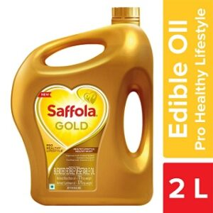 Saffola Gold Pro Healthy Lifestyle Edible Oil 2 L for Rs.289 @ Amazon Pantry