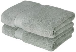 Solimo 100% Cotton 575 GSM 2 Piece Bath Towel for Rs.659 @ Amazon