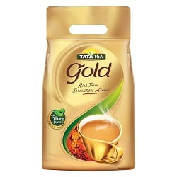 Tata Tea Gold Leaf Pouch 1500 g worth Rs.895 for Rs.744 @ Amazon