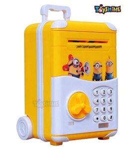 Toyshine Money Safe Kids Piggy Bank with Electronic Lock for Rs.899 @ Amazon