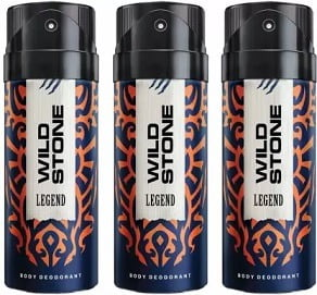Wild Stone legend3 Deodorant Spray (150mlx 3) for Rs.358 @ Flipkart