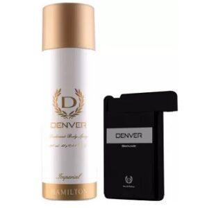 Denver Imperial Deo & Black Code Pocket Perfume (218 ml, Pack of 2) for Rs.197 @ Flipkart