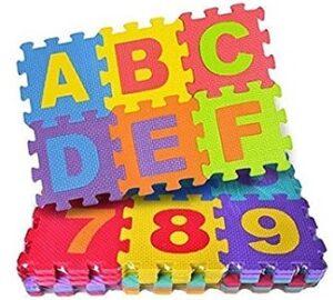 FunBlast 36 Pieces Mini Puzzle Foam Mat for Kids for Rs.295 @ Amazon