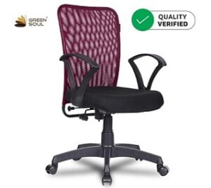 Green Soul Seoul Mid Back Chair for Rs.3490 @ Amazon