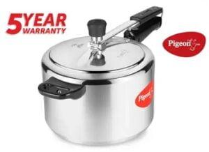 Pigeon Special 5 L Pressure Cooker (Aluminium) for Rs.749 @ Flipkart