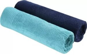 Trident Cotton 380 GSM Bath Towel Set (Pack of 2) for Rs.399 @ Flipkart