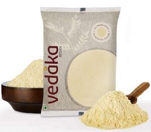Vedaka Gram Flour (100% Chana Besan) 1 kg for Rs.84 @ Amazon Pantry