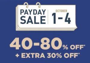 AJIO Men's & Women's Fashion Style – 40%  80% off + Extra 30% off