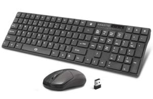 Amkette Primus Wireless Keyboard & Mouse Combo (2.4 Ghz Wireless) for Rs.551 @ Amazon