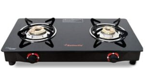 Butterfly Smart Glass 2 Burner Gas Stove for Rs.1699 @ Amazon