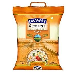 Daawat Rozana Super Basmati Rice 5kg for Rs.299 @ Amazon Pantry