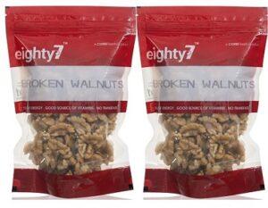 Eighty7 California Broken Walnuts Kernels (500gm x2) for Rs.799 @ Amazon