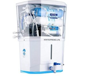 KENT Supreme Lite 2020 Wall Mountable RO+UF+TDS Control 8 L Tank for Rs.10999 + Rs.1500 Cashback @ Amazon