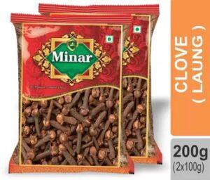 Minar Cloves (Lavang) 200gm for Rs.233 @ Flipkart