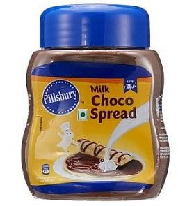 Pillsbury Milk Choco Spread 290g for Rs.199 @ Amazon