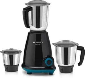 Sansui Pro Home Allure 500 W Mixer Grinder 3 Jars for Rs.1604 @ Flipkart