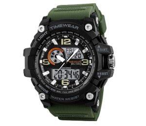 TIMEWEAR Commando Series Analog Digital Sports Watch for Rs.626 @ Amazon