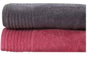 Trident Cotton 380 GSM Bath Towel Set (Pack of 2) for Rs.409 @ Flipkart