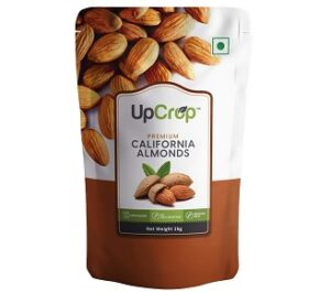 Upcrop Premium California Almonds 1kg Rs.710 @ Amazon