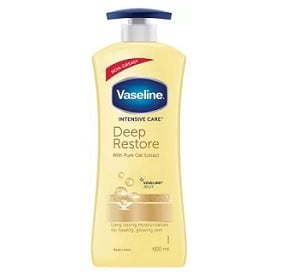 Vaseline Intensive Care Deep Restore Body Lotion 600ml worth Rs.449 for Rs.350 – Amazon