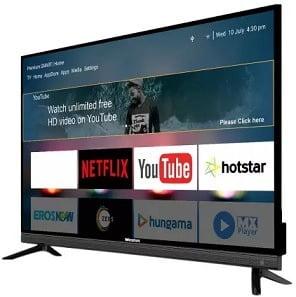 Weston Premium Series 108cm (43 inch) Full HD LED Smart TV for Rs.13999 @ Flipkart